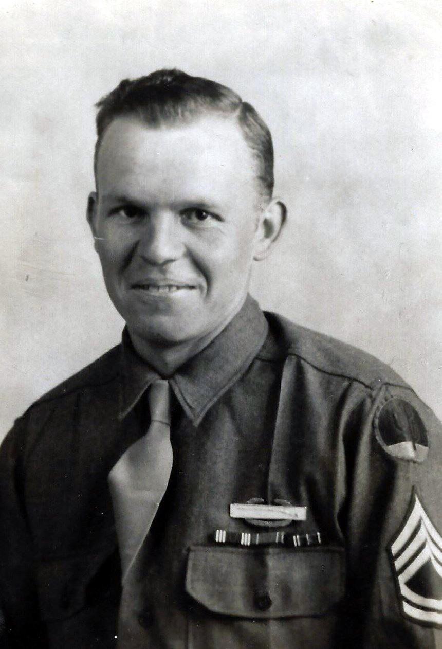 Master Sergeant Charlie J.  Mares