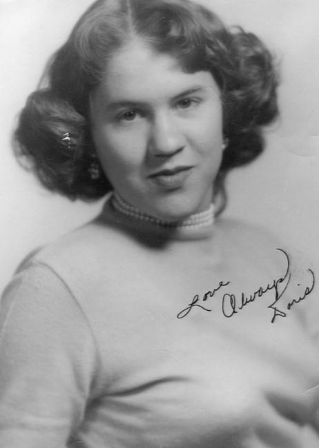 Doris Bordeaux Obituary - Wilmington, NC