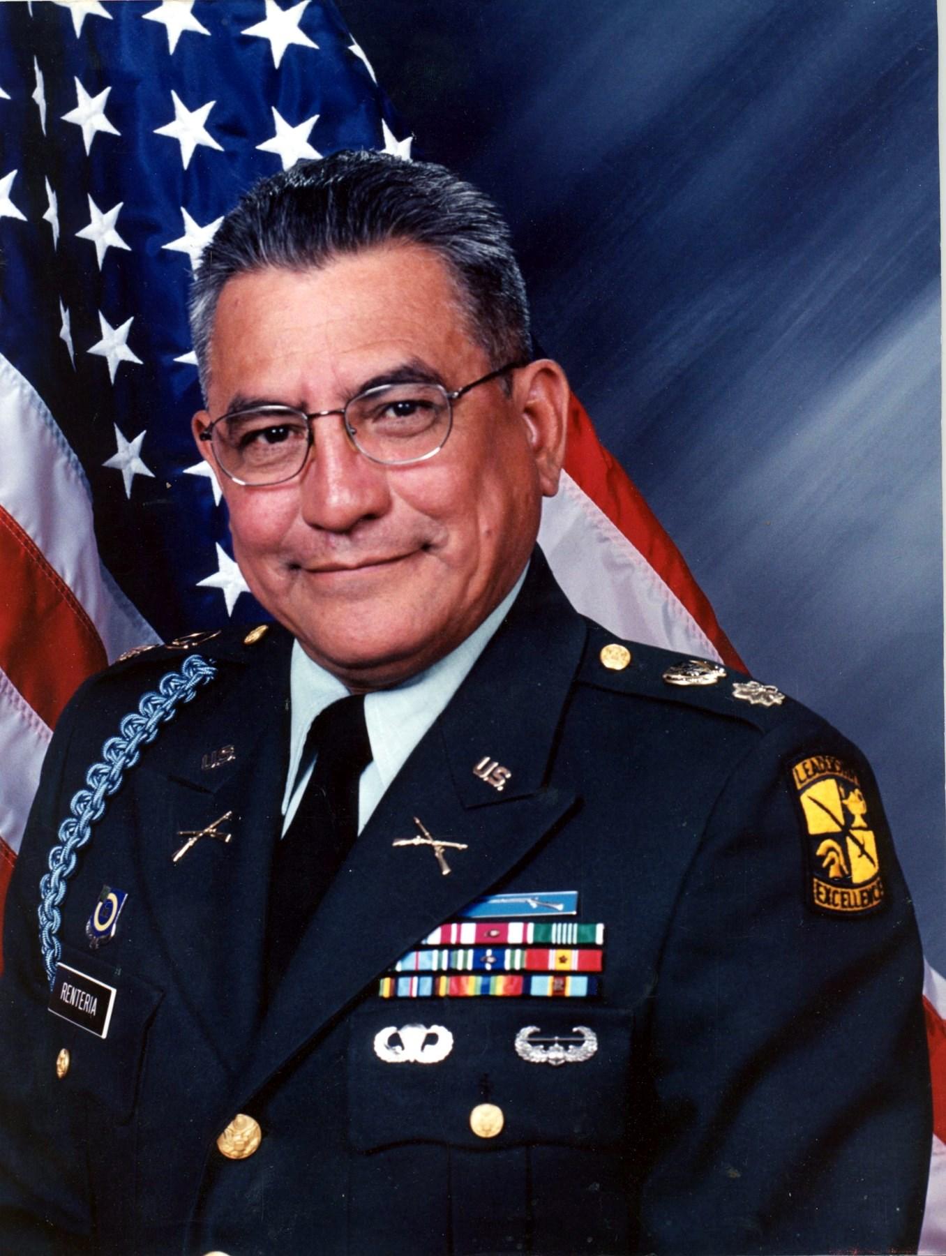 "Major (Retired) Guillermo  ""Willie"" Antonio  Renteria"