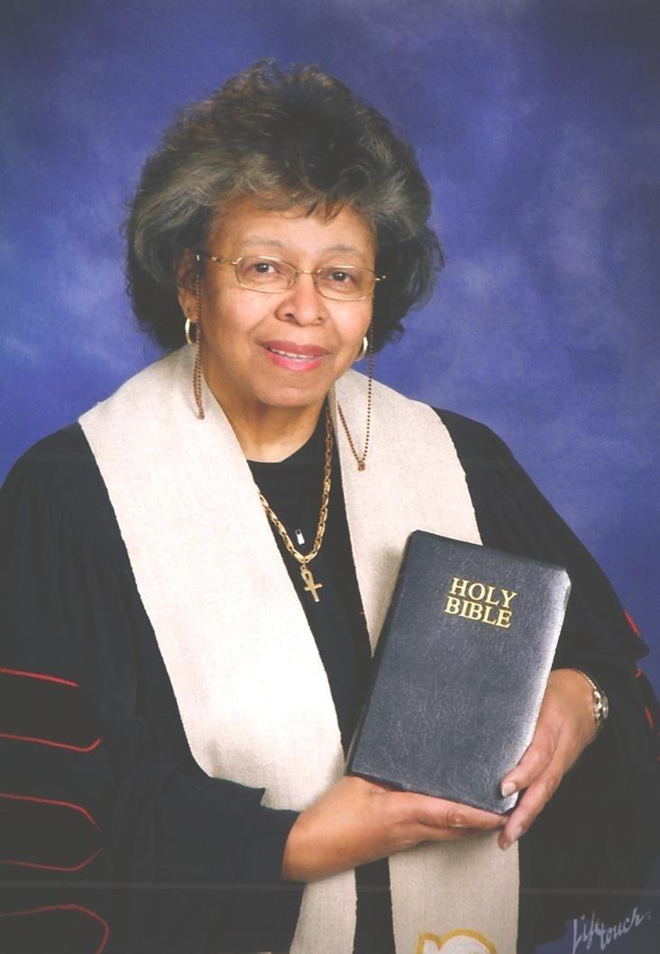 Rev.   Dr. Vera Evans  Miller