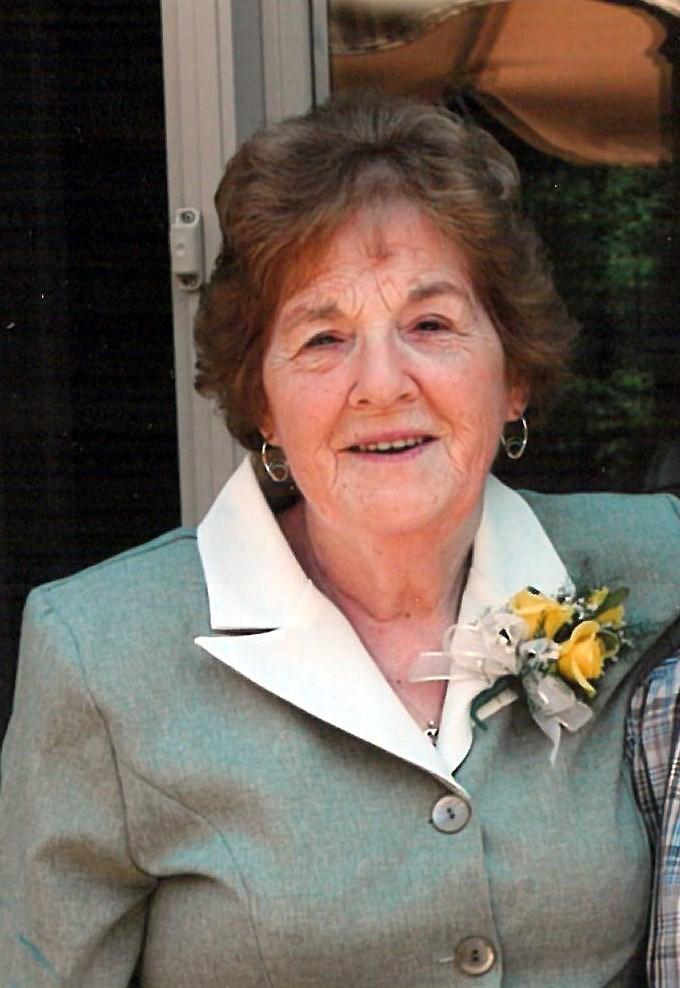 Gwen Evelyn  Strickland (nee Butt)