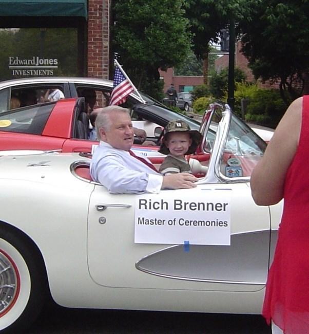 Richard Rich Dennis Brenner avis de décès - Greensboro, NC