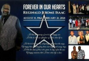Reginald Jerome  Isaac