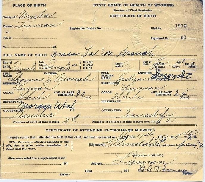 Dessa Brough Richins Obituary - Mesa, AZ