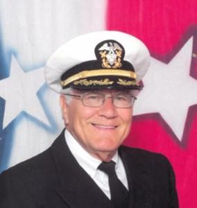 Captain Joe C.  McCaslin, USN, Retired